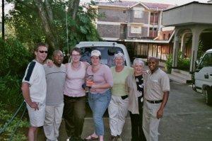 Our Kenyan Kids 2007 flight crew